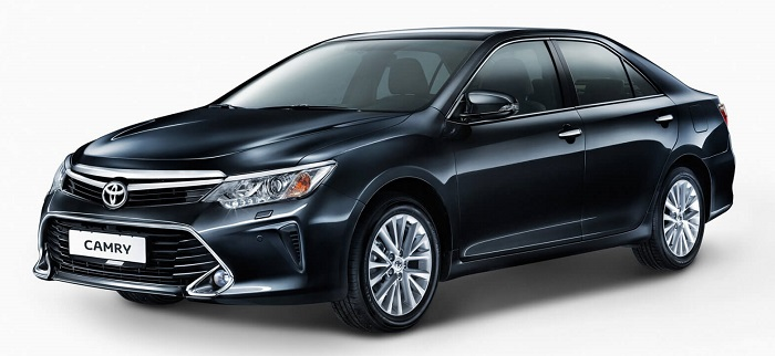 Ремонт кузова и восстановление геометрии Toyota Camry