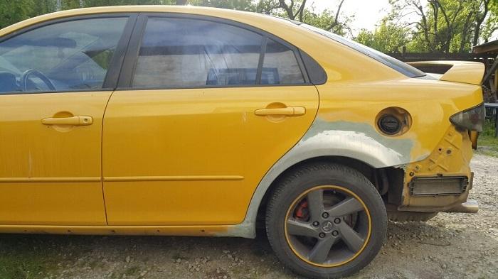 Покраска и восстановление кузова Mazda 6