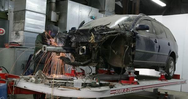 Кузовной ремонт и стапельные работы Киа Оптима