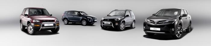 Стапель и восстановление кузова автомобилей Toyota RAV4