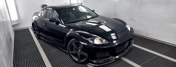 Покраска и полировка автомобиля Mazda RX-8