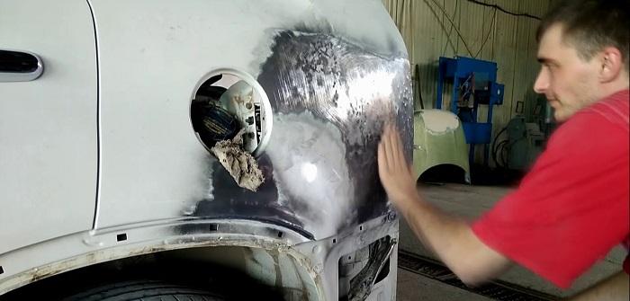 Покраска и кузовной ремонт Киа Соренто в Москве