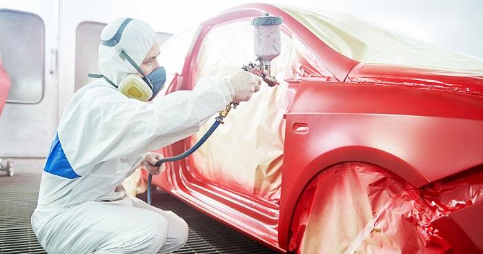Покраска кузова автомобиля Kia Sportage в Москве цены