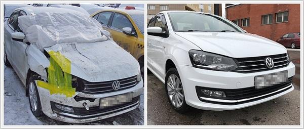Стапель и восстановление кузова автомобилей Volkswagen Polo 4, 5 в Москве СВАО