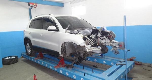 Кузовной ремонт и восстановление Фольксваген Тигуан дешево